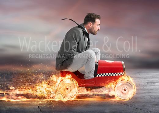 Blogbeitrag Kanzlei Wackerbauer Runter vom Gas